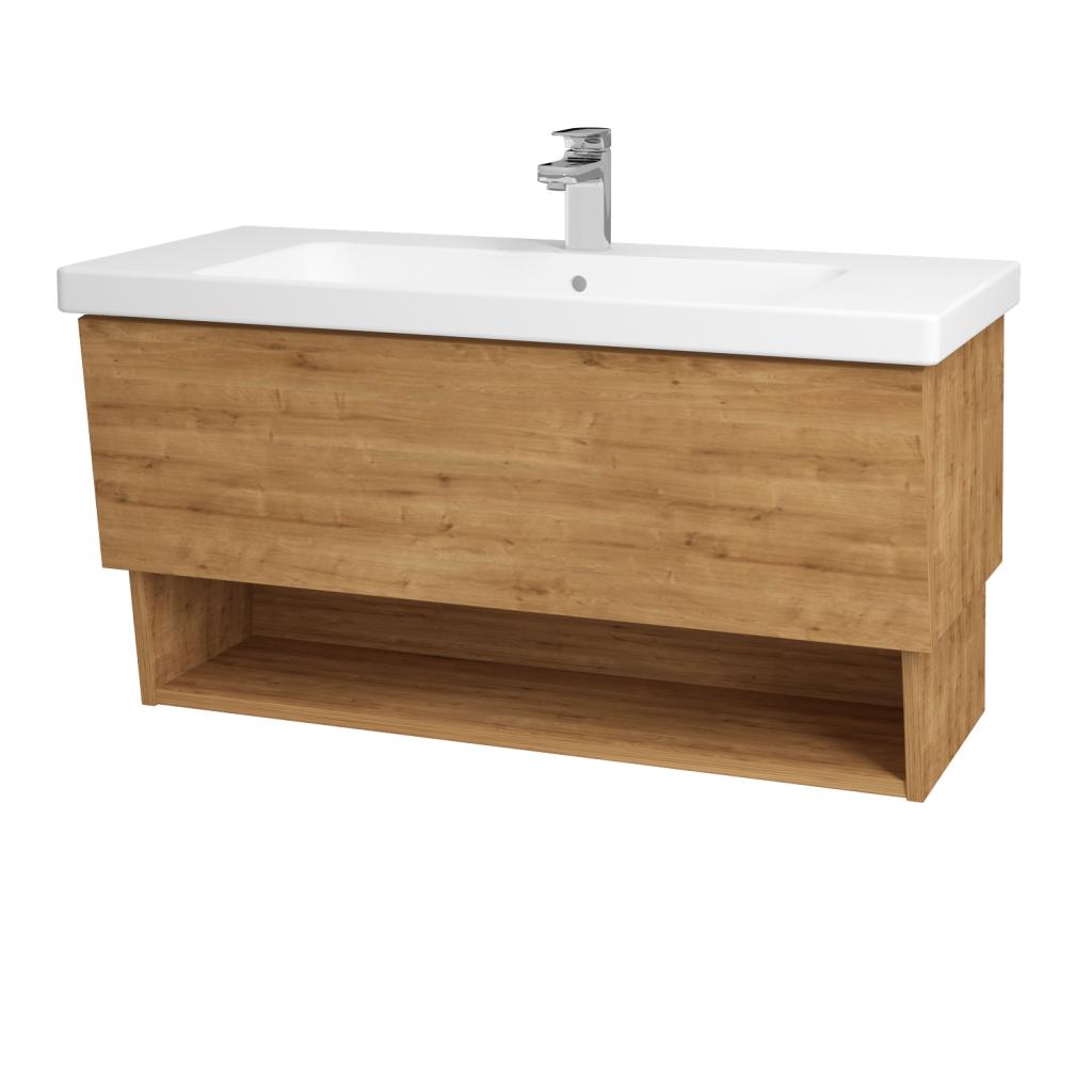 Dreja - Kúpeľňová skriňa INVENCE SZZO 100 (umývadlo Harmonia) - D09 Arlington / D09 Arlington (137892)