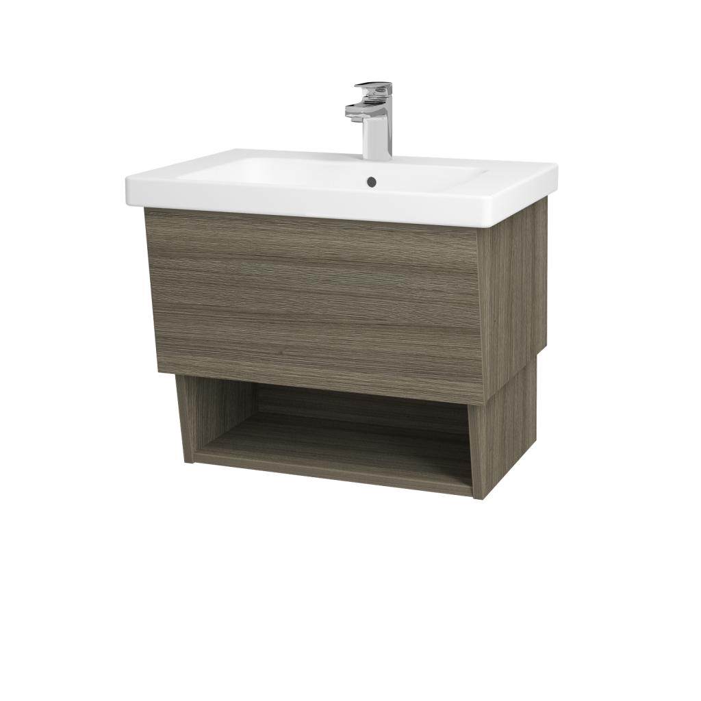 Dreja - Kúpeľňová skriňa INVENCE SZZO 65 (umývadlo Harmonia) - D03 Cafe / D03 Cafe (137847)