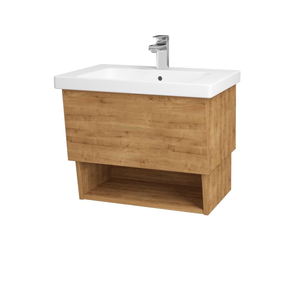 Dreja - Kúpeľňová skriňa INVENCE SZZO 65 (umývadlo Harmonia) - D09 Arlington / D09 Arlington (137830)