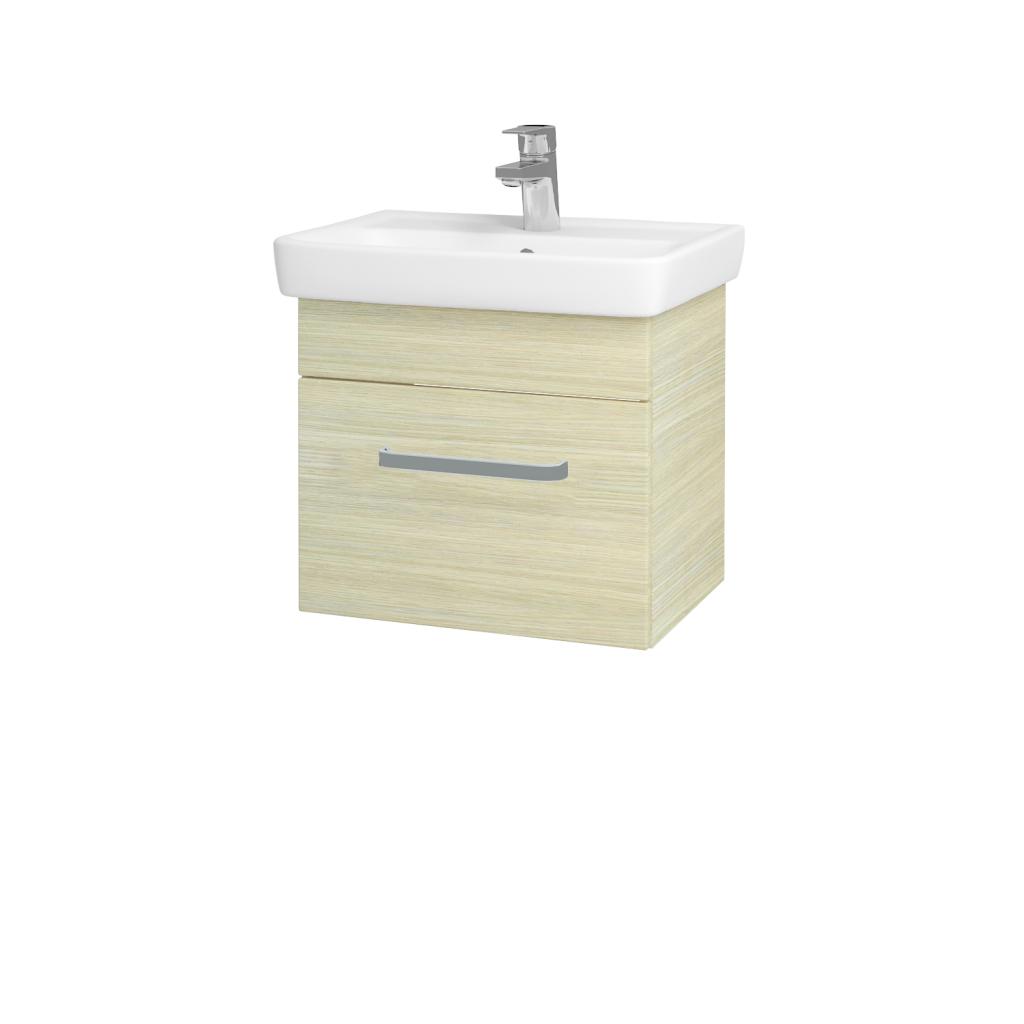 Dreja - Kúpeľňová skriňa SOLO SZZ 50 - D04 Dub / Úchytka T01 / D04 Dub (21224A)