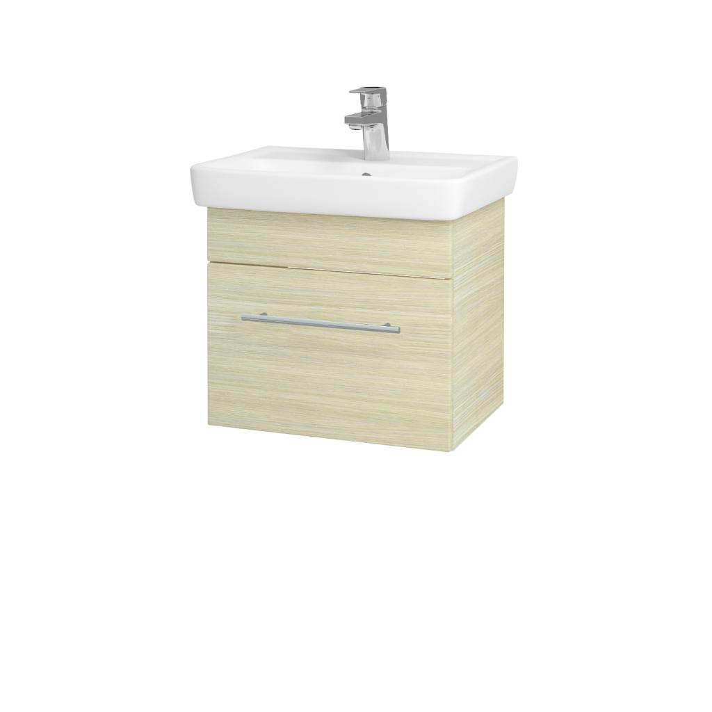 Dreja - Kúpeľňová skriňa SOLO SZZ 50 - D04 Dub / Úchytka T02 / D04 Dub (21224B)