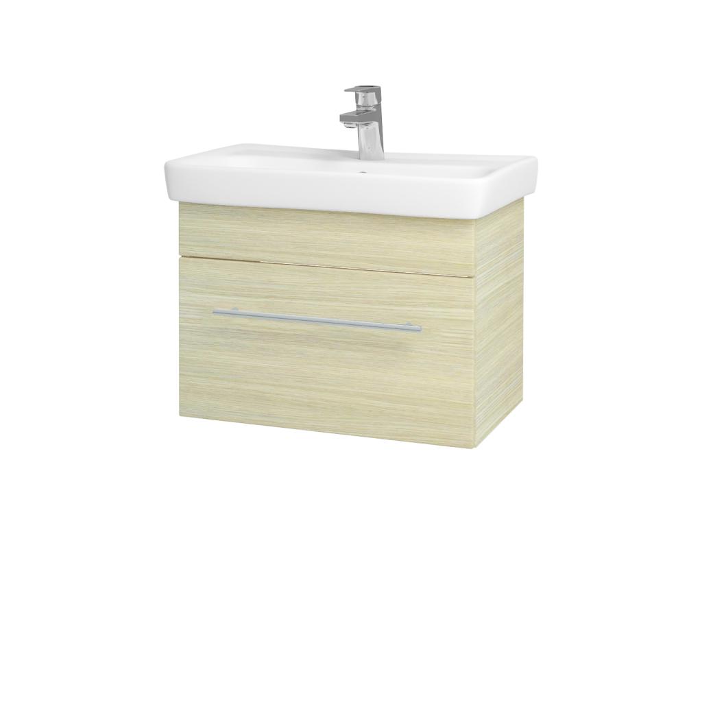 Dreja - Kúpeľňová skriňa SOLO SZZ 60 - D04 Dub / Úchytka T02 / D04 Dub (22122B)