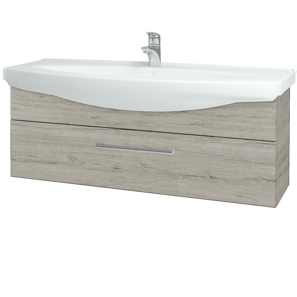 Dreja - Kúpeľňová skriňa TAKE IT SZZ 120 - D05 Oregon / Úchytka T03 / D05 Oregon (134280C)
