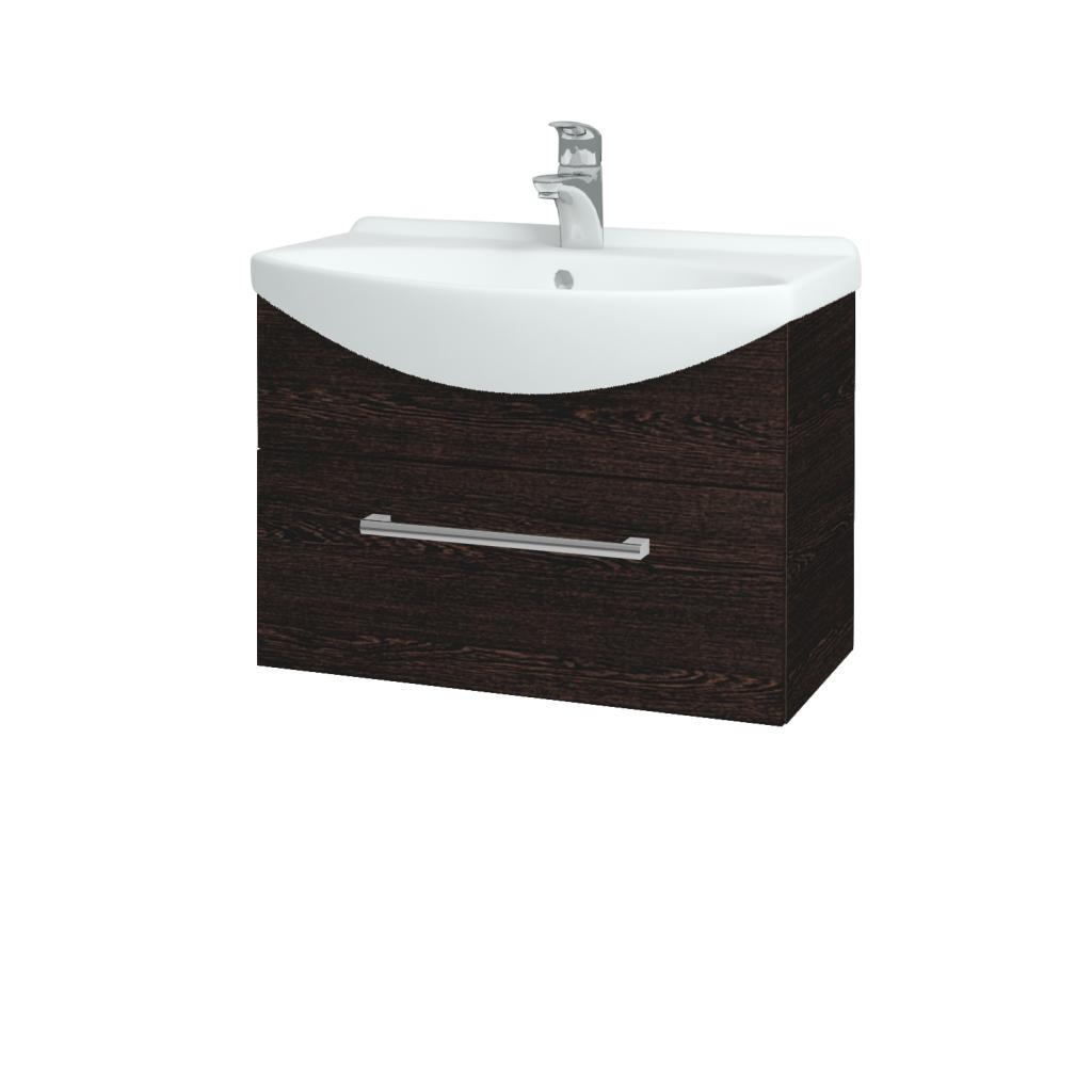 Dreja - Kúpeľňová skriňa TAKE IT SZZ 65 - D08 Wenge / Úchytka T03 / D08 Wenge (133740C)