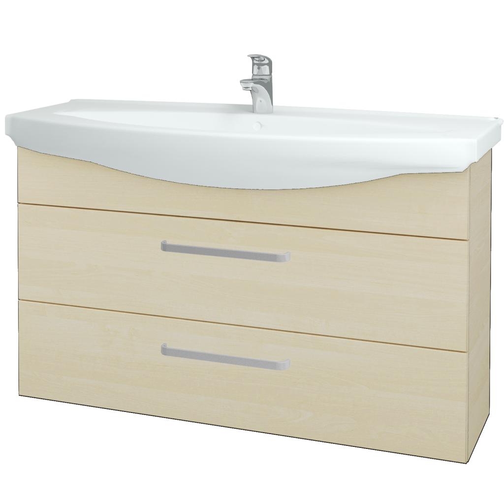 Dreja - Kúpeľňová skriňa TAKE IT SZZ2 120 - D02 Bříza / Úchytka T01 / D02 Bříza (134327A)
