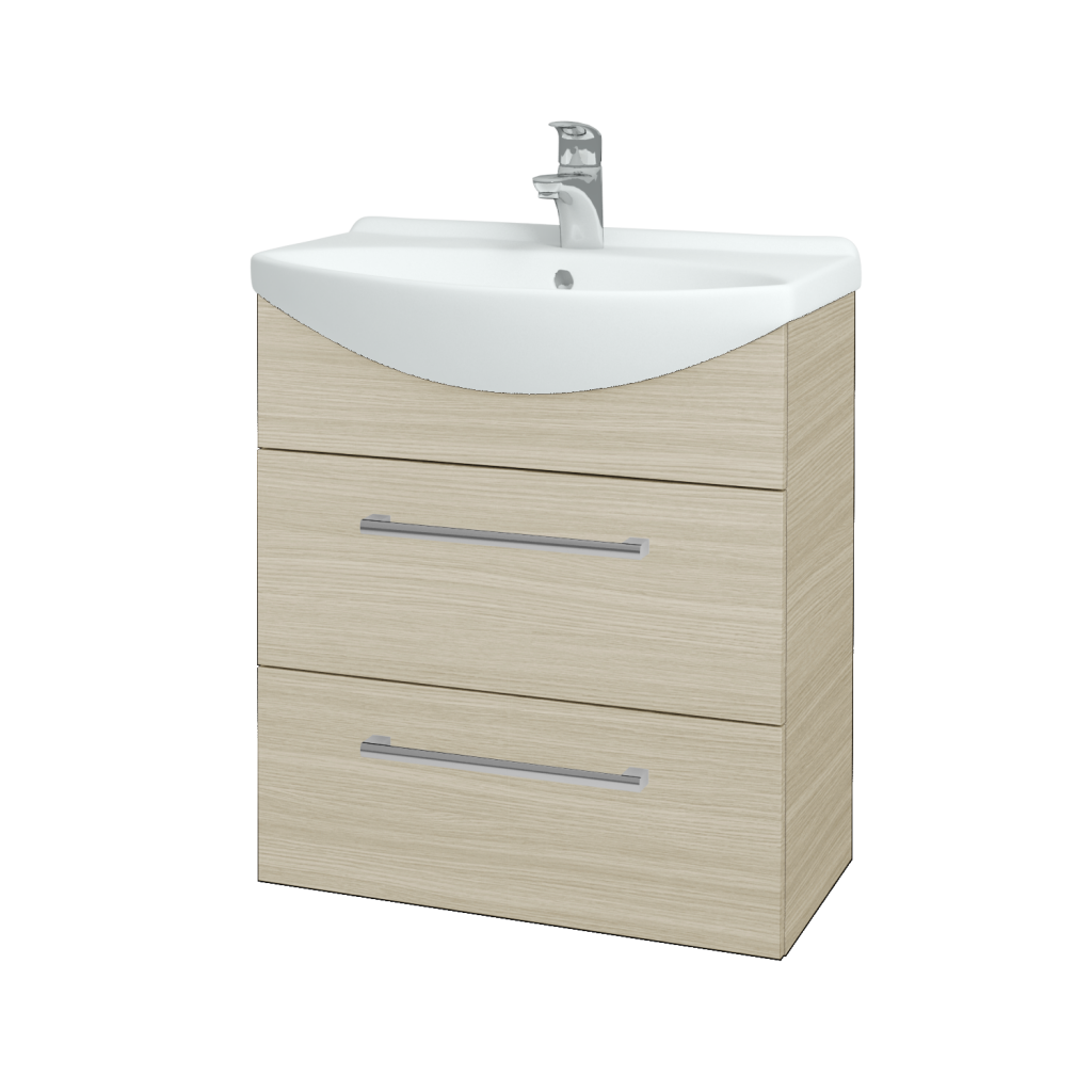 Dreja - Kúpeľňová skriňa TAKE IT SZZ2 65 - D04 Dub / Úchytka T03 / D04 Dub (133801C)