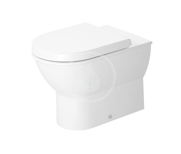 DURAVIT - Darling New Stojace WC, zadný odpad, s HygieneGlaze, alpská biela (2139092000)