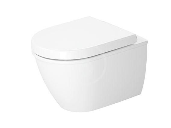 DURAVIT - Darling New Závesné WC Compact, s HygieneGlaze, alpská biela (2549092000)