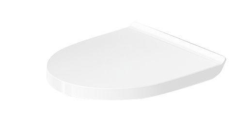 DURAVIT - DuraStyle Basic Detské sedadlo na závesné WC, SoftClose, alpská biela (0021390000)