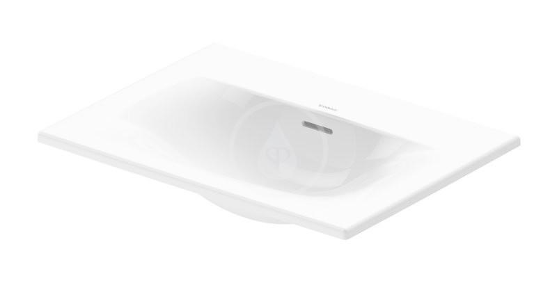 DURAVIT - Viu Umývadlo na dosku, 600x450 mm, alpská biela (0385600060)