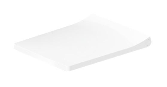 DURAVIT - Viu WC sedadlo, alpská biela (0021110000)