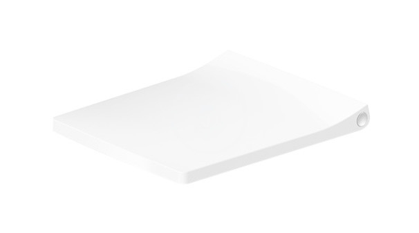 DURAVIT - Viu WC sedadlo Compact, so sklápaním SoftClose, alpská biela (0021290000)