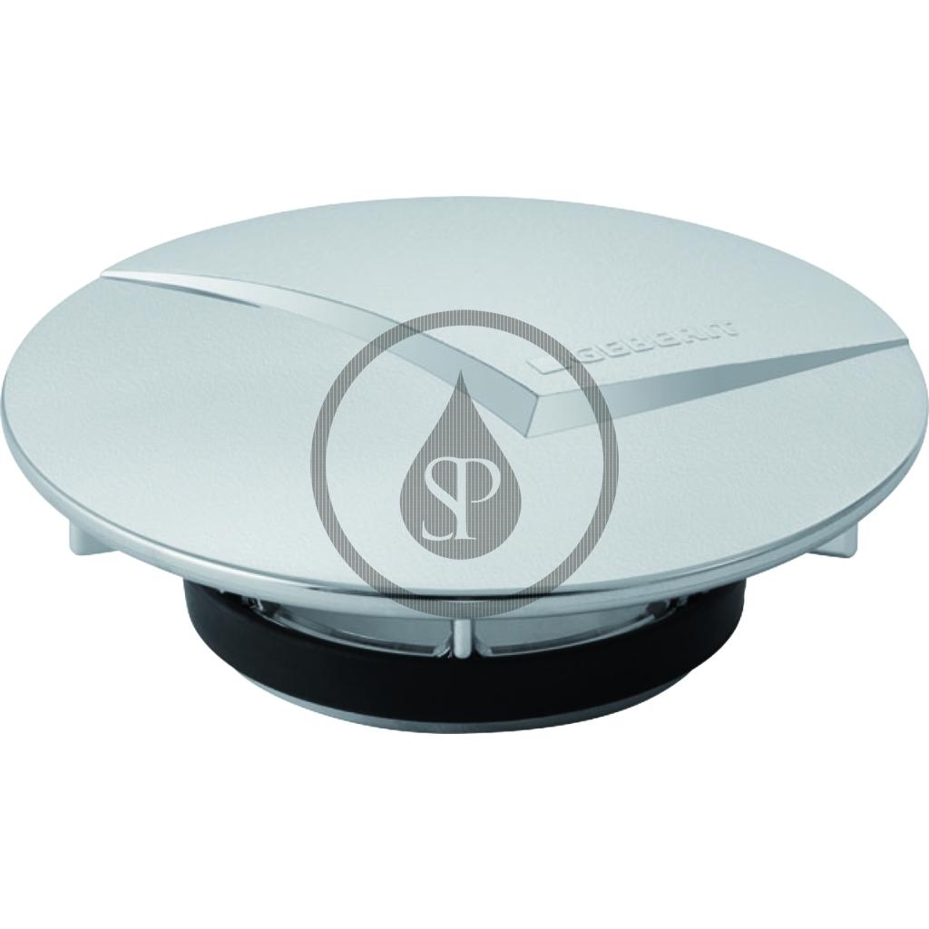 GEBERIT - Příslušenství Kryt odpadového ventilu d52 sprchovej odpadovej súpravy, matný chróm (150.241.46.1)