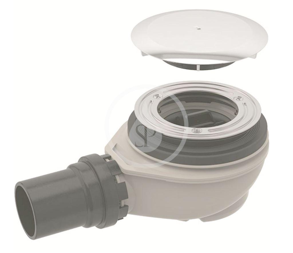 GEBERIT - Příslušenství Sprchová odpadová súprava d90, s krytom odpadového ventilu, chróm (150.551.21.1)