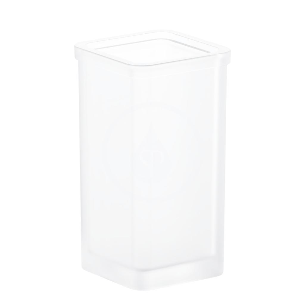 GROHE - Selection Cube Nádoba na WC kefu, matné sklo (40867000)