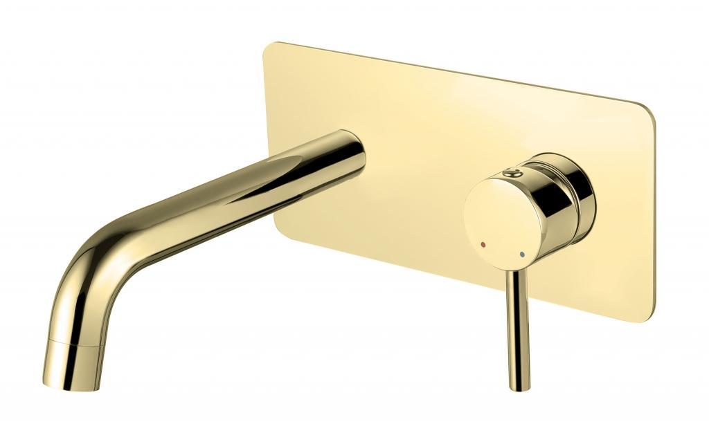HOPA - Podomietková umývadlová batéria ILLUSION Zlatá (BABUISZL)