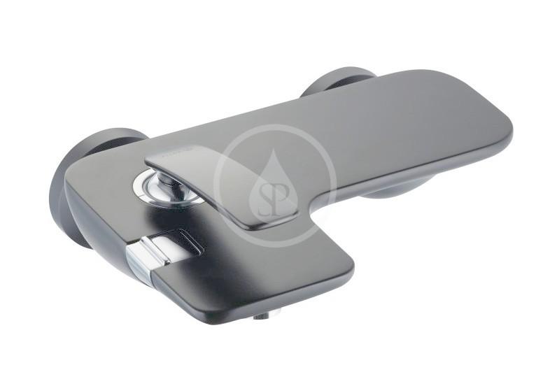 KLUDI - Balance Vaňová batéria, čierna mat (524458775)