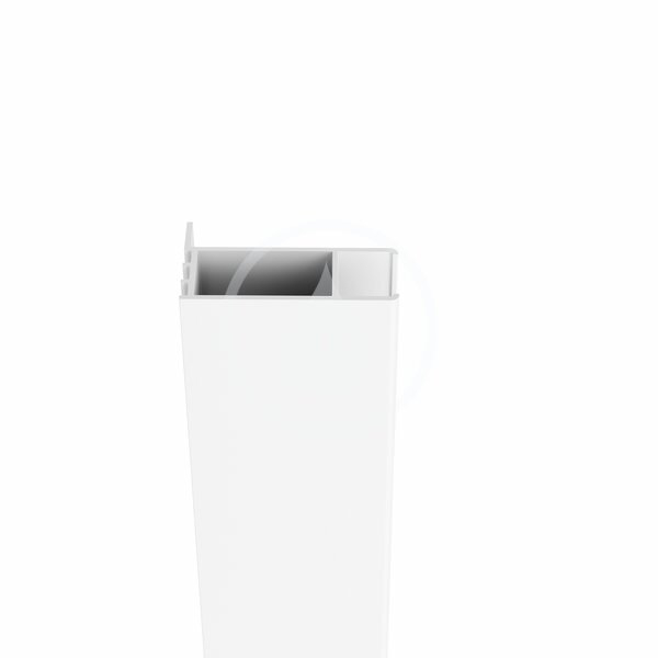 RAVAK - Chrome Predĺžený ustavovací profil CNPS pre stenu CPS, výška 1950 mm, biela (E778801119400)