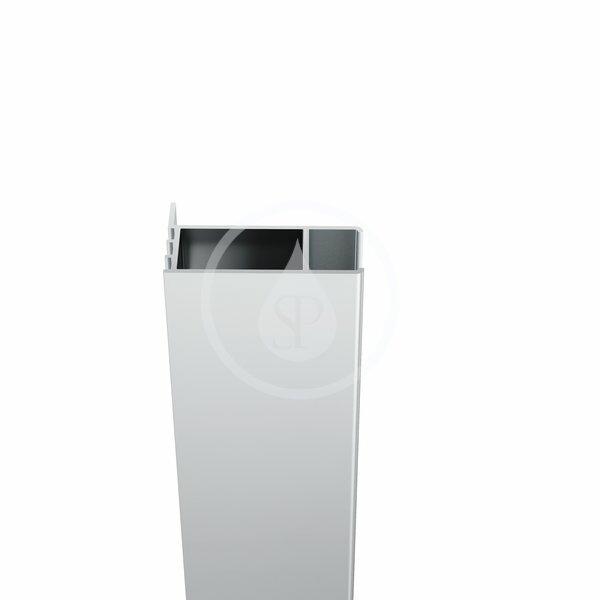 RAVAK - Chrome Predĺžený ustavovací profil CNPS pre stenu CPS, výška 1950 mm, satin (E778801U19400)