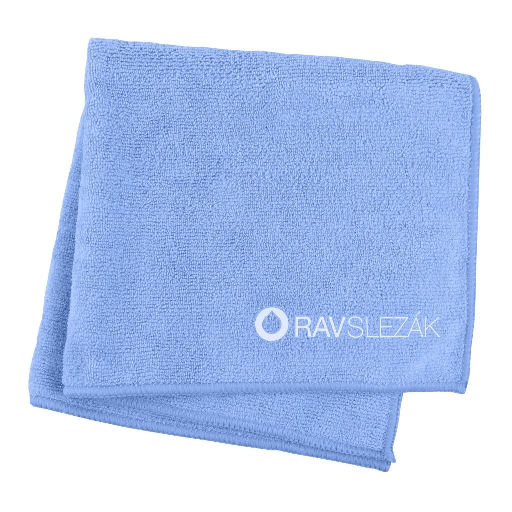 SLEZAK-RAV - Utierka s mikrovláknom 40 x 40 cm, Farba: modrá, Rozmer: 40x40 (UT0001)