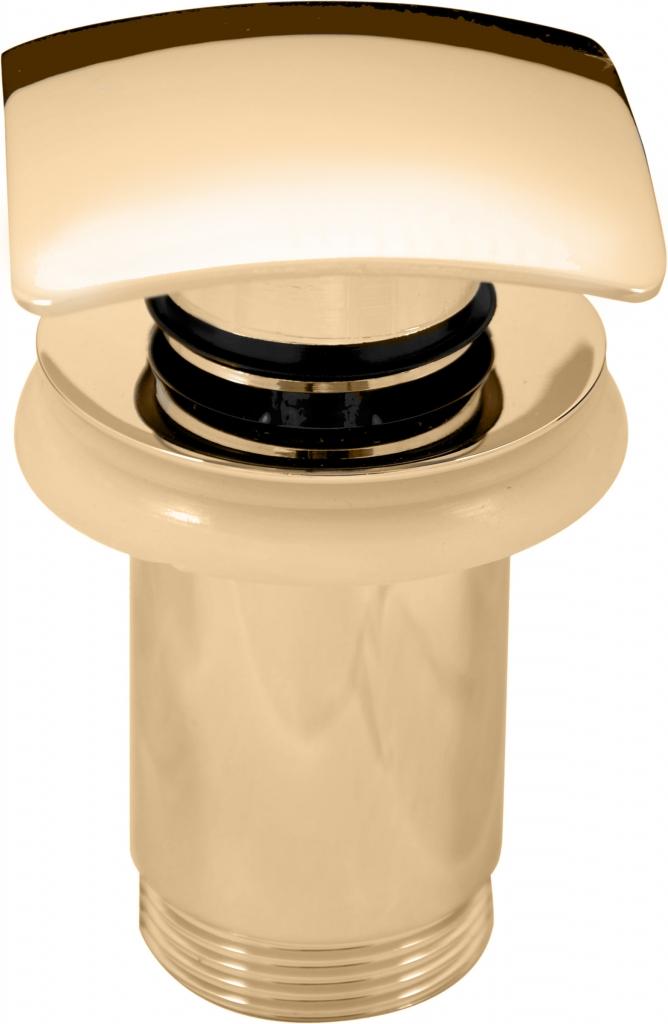 SLEZAK-RAV - Výpusť umývadlová 5/4 '' CLICK-CLACK zlato, Farba: zlato (MD0481Z)