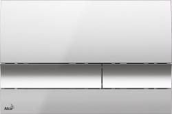 Alcaplast Ovládacie tlačidlo, chróm-lesk M1721 (M1721)