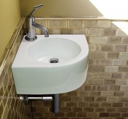 Aquatek - LILY rohové umývadlo 39 x 39 x 18 cm (LILY)