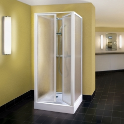 Aquatek - ROYAL D2 Sprchová zástena štvorcová 90x90cm plast (ROYALD290)