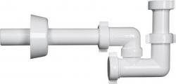 BONOMINI - BAZOOKA bidetový sifón, biela (2314CP32B0)
