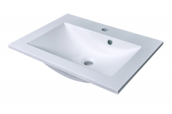 CEDERIKA - SLIM 60 umývadlo z liateho mramoru - BIELE (CA.05460)
