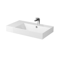 CERSANIT - Nábytkové umývadlo INVERTO 80 s odkladacou plochou vľavo (K671-016)
