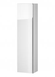 CERSANIT - Nábytkový stĺpik VIRGO biely s chrómovou úchytkou (S522-032)