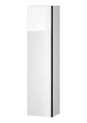 CERSANIT - Nábytkový stĺpik VIRGO biely s čiernou úchytkou (S522-033)