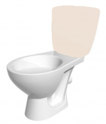 CERSANIT - ND - KASKADA náhradné WC misa bez montážnej sady (K100-206-01X)