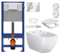 CERSANIT - SET ZÁVĚSNÁ WC MÍSA METROPOLITAN CLEAN ON + PNEU NÁDRŽKA + OVLADAČ + WC SEDÁTKO (K701-267) 77/5000 SET ZÁVESNÁ WC MISA CLEANON + PNEU NÁDRŽKA + OVLÁDAČ + WC SEDENIE (K701-267)