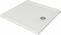 CERSANIT - Sprchová vanička TAKO 90x4, štvorec CW (S204-010)