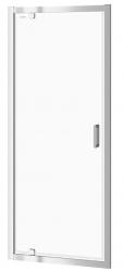 CERSANIT - Sprchové dvere ARTECO 80x190, kývne, číre sklo (S157-007)