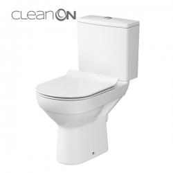 CERSANIT - WC KOMBI 603 CITY NEW CLEAN ON 010 3/5 VRÁTANE SEDÁTKA SLIM (K35-037)