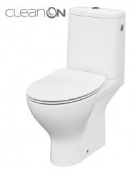 CERSANIT - WC KOMBI MODUO 43 670 010 3/5 CLEAN ON, SEDADLO SLIM DUROPLAST-SOFT CLOSE (K116-029)