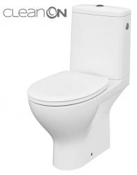 CERSANIT - WC KOMBI MODUO 43 672 010 3/5 CLEAN ON, SEDADLO DUROPLAST-SOFT CLOSE (K116-030)