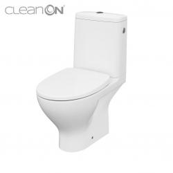 CERSANIT - WC KOMBI MODUO 666 010 3/5 CLEAN ON, SEDADLO SLIM WRAP DUROPLAST-SOFT CLOSE (K116-024)