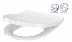 CERSANIT - WC sedátko INVERTO SLIM duroplast SOFT CLOSE, EASY OFF ONE BUTTON (K98-0187)