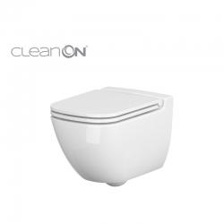 CERSANIT - Závesné WC Caspia NEW CLEAN bez sedadla náhrada za K100-383 (K11-0233)