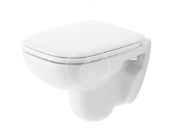 DURAVIT - D-Code Závesné WC Compact, alpská biela (22110900002)