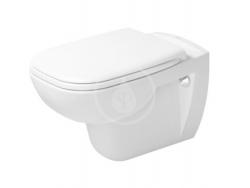 DURAVIT - D-Code Závesné WC, s HygieneGlaze, alpská biela (25350920002)