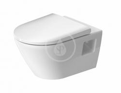 DURAVIT - D-Neo Závesné WC s doskou SoftClose, Rimless, biela (45780900A1)