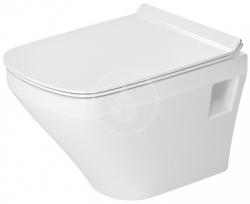 DURAVIT - DuraStyle Závesný klozet Compact, 370 mmx480 mm, biely – klozet (2539090000)