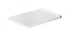 DURAVIT - Vero Air WC doska so sklápaním SoftClose, alpská biela (0022090000)