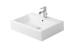 DURAVIT - Vero Jednootvorové umývadlo s prepadom, 600 mmx465 mm, biele (0454600000)
