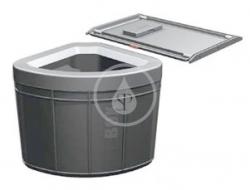 FRANKE - Sortery Vstavaný odpadkový kôš 45, čierna (121.0307.565)